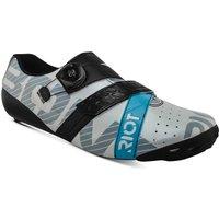Bont Riot+ Road Shoes - EU 42 - White/Black