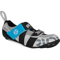 Bont Riot TR+ Road Shoes - EU 46.5 - White/Black