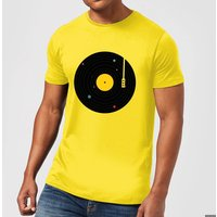 Florent Bodart Music Everywhere Men's T-Shirt - Yellow - M - Yellow - Music Gifts