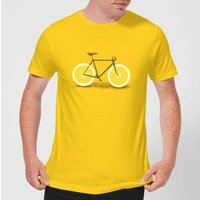 Florent Bodart Citrus Lemon Men's T-Shirt - Yellow - M - Yellow