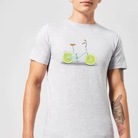 Florent Bodart Citrus Lime Men's T-Shirt - Grey - XXL - Grey