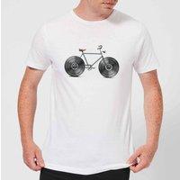 Florent Bodart Velophone Men's T-Shirt - White - S - White