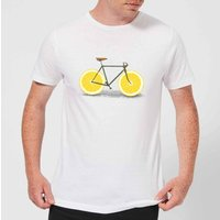 Florent Bodart Citrus Lemon Men's T-Shirt - White - XXL - White