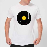 Florent Bodart Music Everywhere Men's T-Shirt - White - XL - White - Music Gifts