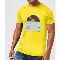 Florent Bodart High Fidelity Men's T-Shirt - Yellow - L - Yellow
