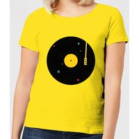 Florent Bodart Music Everywhere Women's T-Shirt - Yellow - S - Yellow - Music Gifts