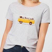 Florent Bodart Yellow Van Women's T-Shirt - Grey - S - Grey