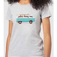 Florent Bodart Blue Van Women's T-Shirt - Grey - S - Grey