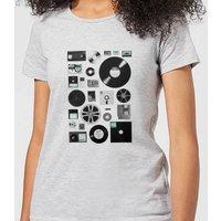 Florent Bodart Data Women's T-Shirt - Grey - S - Grey