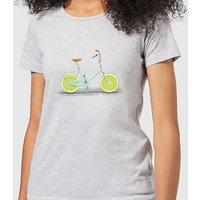 Florent Bodart Citrus Lime Women's T-Shirt - Grey - XL - Grey