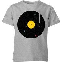 Florent Bodart Music Everywhere Kids' T-Shirt - Grey - 11-12 Years - Grey - Music Gifts