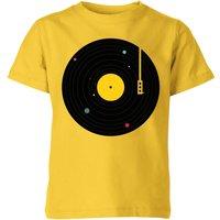 Florent Bodart Music Everywhere Kids' T-Shirt - Yellow - 11-12 Years - Yellow - Music Gifts