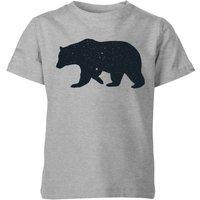 Florent Bodart Bear Kids' T-Shirt - Grey - 7-8 Years - Grey