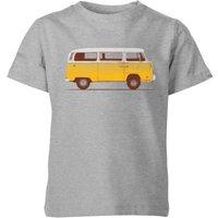 Florent Bodart Yellow Van Kids' T-Shirt - Grey - 7-8 Years - Grey