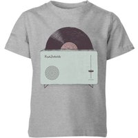 Florent Bodart High Fidelity Kids' T-Shirt - Grey - 7-8 Years - Grey