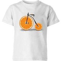 Florent Bodart Citrus Kids' T-Shirt - White - 9-10 Years - White