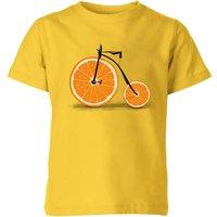 Florent Bodart Citrus Kids' T-Shirt - Yellow - 9-10 Years - Yellow