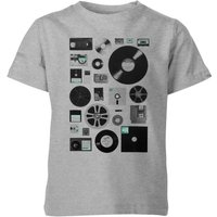 Florent Bodart Data Kids' T-Shirt - Grey - 7-8 Years - Grey