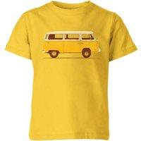 Florent Bodart Yellow Van Kids' T-Shirt - Yellow - 7-8 Years - Yellow