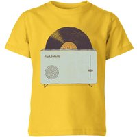 Florent Bodart High Fidelity Kids' T-Shirt - Yellow - 9-10 Years - Yellow