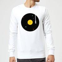 Florent Bodart Music Everywhere Sweatshirt - White - XXL - White - Music Gifts