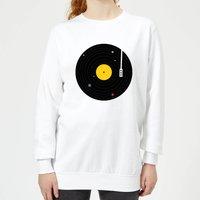 Florent Bodart Music Everywhere Women's Sweatshirt - White - XS - White - Music Gifts