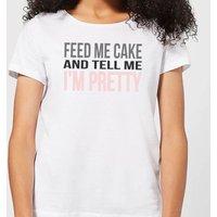 Be My Pretty Feed Me Cake Women's T-Shirt - White - M - White