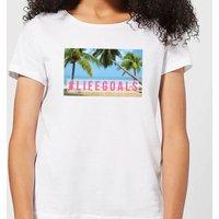 Be My Pretty Life Goals Women's T-Shirt - White - 3XL - White