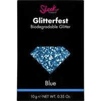Sleek MakeUP Glitterfest Biodegradable Glitter - Blue 10g