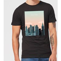 New York Men's T-Shirt - Black - XS - Black