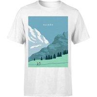 Algau Mens T-Shirt - White - M - White