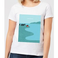 Sweden Women's T-Shirt - White - 3XL - White