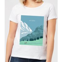 Algau Women's T-Shirt - White - 3XL - White