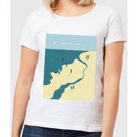 North Sea Women's T-Shirt - White - 4XL - White