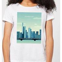 Frankfurt Women's T-Shirt - White - 4XL - White