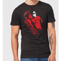 Incredibles 2 Saving The Day Men's T-Shirt - Black - XL - Black