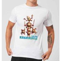 Disney Moana Fear The Kakamora Men's T-Shirt - White - 5XL - White