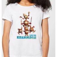 Moana Fear The Kakamora Women's T-Shirt - White - S - White