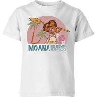 Moana Read The Sea Kids' T-Shirt - White - 3-4 Years - White
