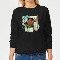 Moana Maui Women's Sweatshirt - Black - M - Black
