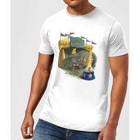 Disney Dumbo Circus Men's T-Shirt - White - XS - White