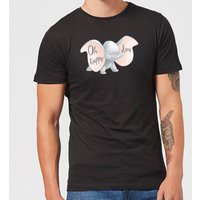 Disney Dumbo Happy Day Men's T-Shirt - Black - XXL - Black