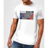 Disney Dumbo Rich and Famous Mens T-Shirt - White - XL - White