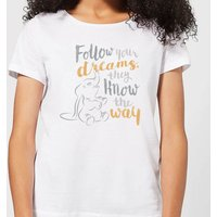 Dumbo Follow Your Dreams Women's T-Shirt - White - 4XL - White