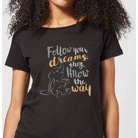 Dumbo Follow Your Dreams Women's T-Shirt - Black - S