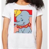 Dumbo Portrait Women's T-Shirt - White - M