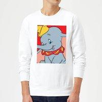 Dumbo Portrait Sweatshirt - White - XXL - White