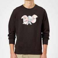 Dumbo Happy Day Sweatshirt - Black - L - Black