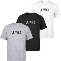 Le Velo Men's T-Shirt - XL - Black
