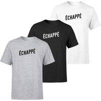 Echappe Men's T-Shirt - L - Grey